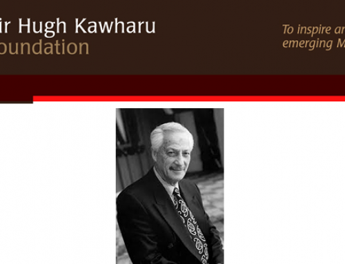The Sir Hugh Kawharu Masters Scholarship