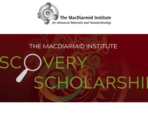 The MacDiarmid Institute Discovery Scholarships